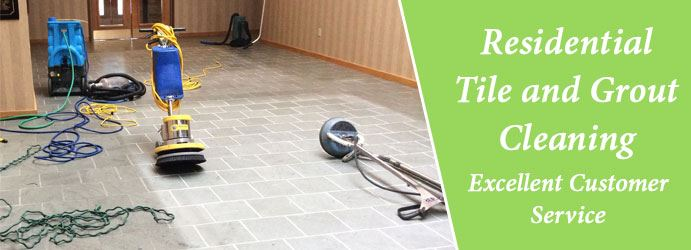 Residential Tile and Grout Cleaning Panorama