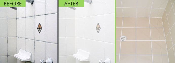 Bathroom Tile and Grout Cleaning High Range