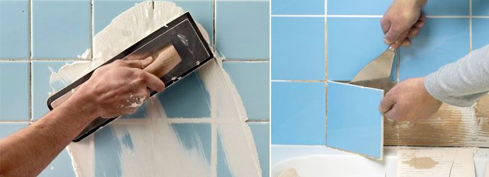 Grout Repair & Tile Re-Grouting