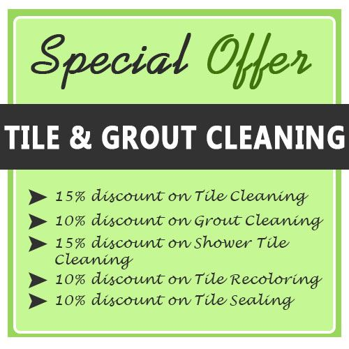Tile Cleaning Deals
