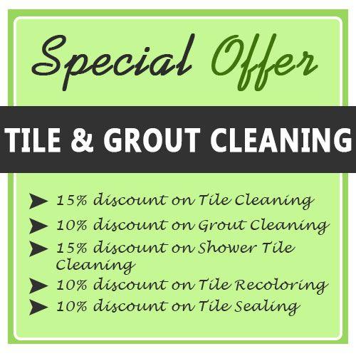 Tile Cleaning Deals
