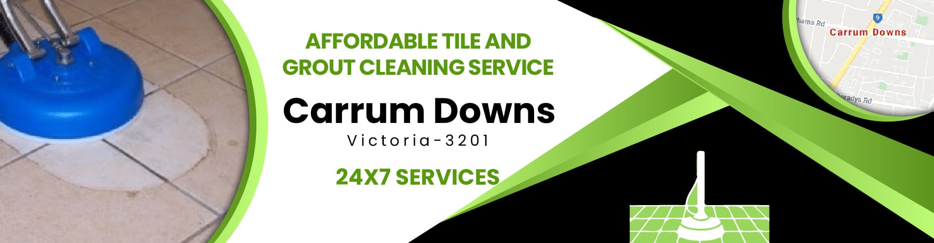Tile and Grout Cleaning Carrum Down