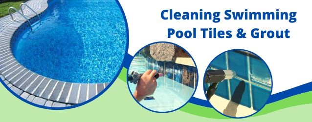 Swimming Pool Tiles & Grout Cleaning