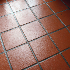 Quarry Tile Grout Cleaning