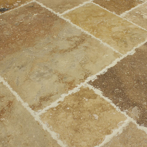 Travertine Tile Grout Cleaning