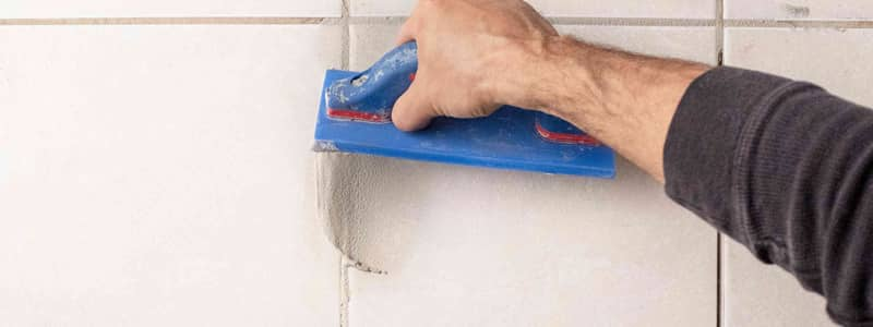 Put New Grout on The Old One